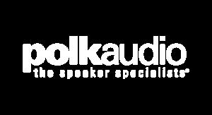 Polk Audio logo-white