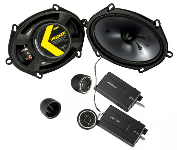 46CSS684 – 5″ X 7″ (130mm X 180mm) 75 Watts RMS Components • 46CSS684