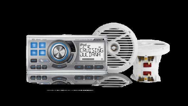CDA-118M Marine White Speaker System • CDA-118M