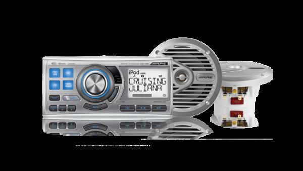 CDA-118M Marine Silver Speaker System • CDA-118M