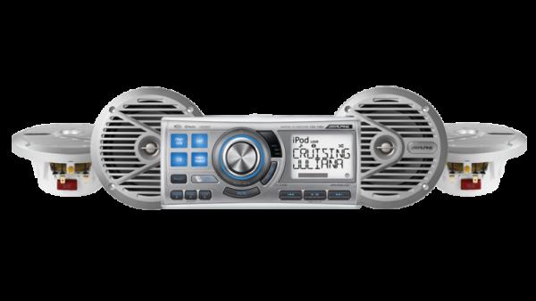 CDA-118M Marine Silver Complete Speaker System • CDA-118M