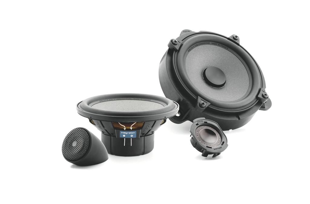 ISREN130 2-Way Component Speakers for Renault • ISREN130