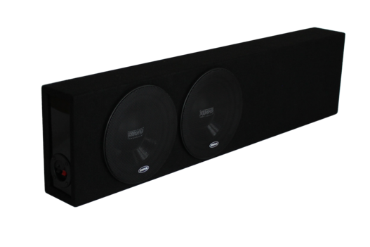 "ZF284SQ Dual 8"" Slimline Ported Sub Enclosure • ZF284SQ"
