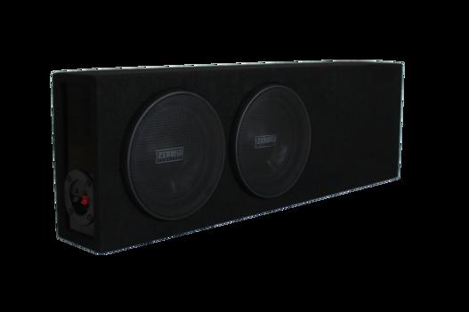 "ZF264SQ Dual 6.5"" Slimline Ported Enclosure • ZF264SQ"
